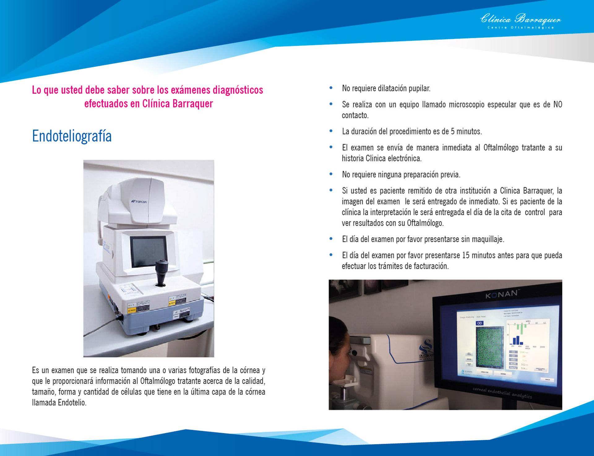 Endoteliografía