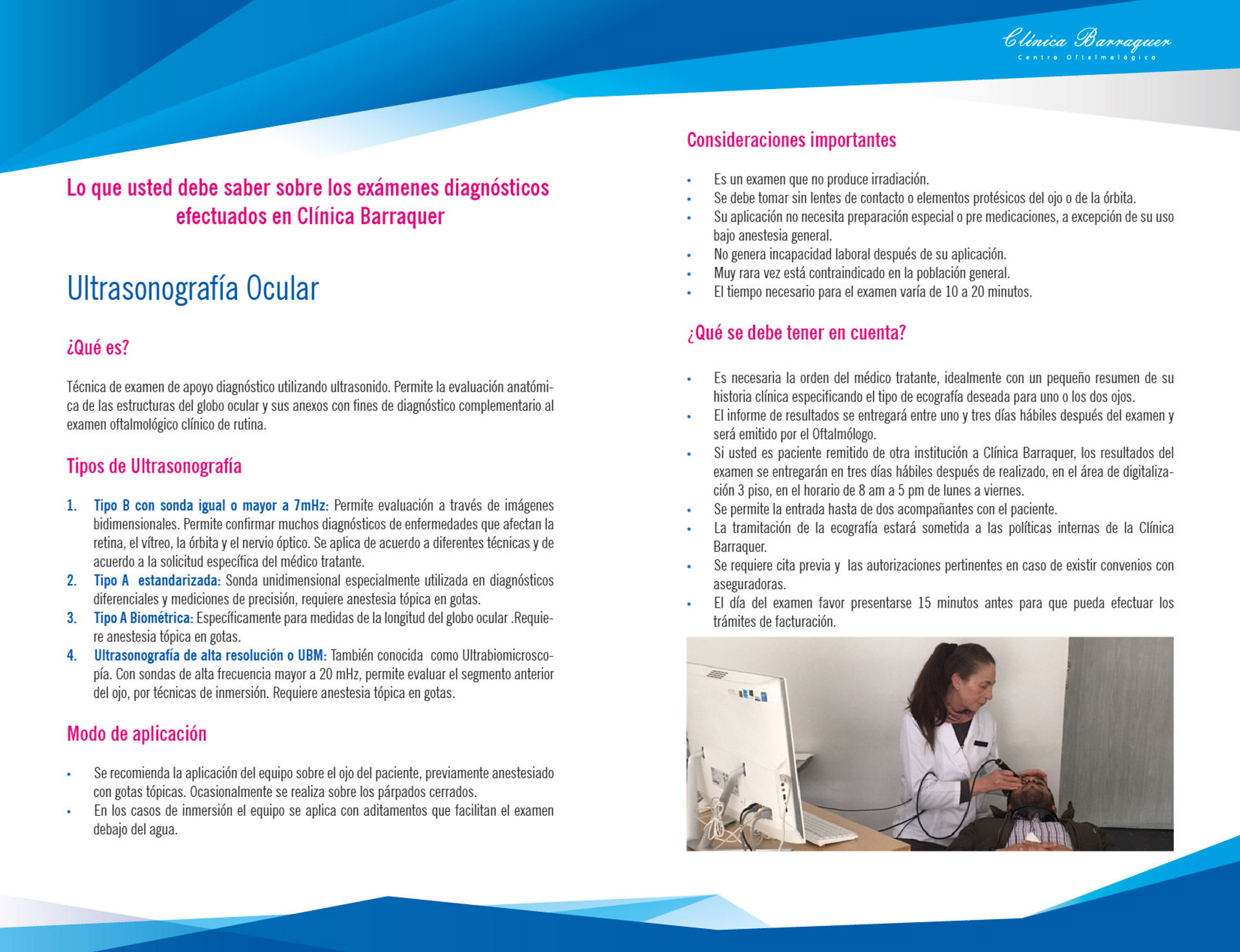 Ultrasonografía Ocular